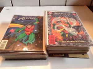 Robin 57 Book Near Mint Lot Set Run 0 1-19 25-41 Plus More