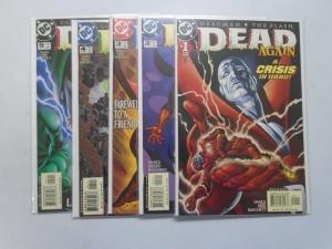 Dead Again A Crisis in Hand SET #1-5 - 8.0 VF - 2001