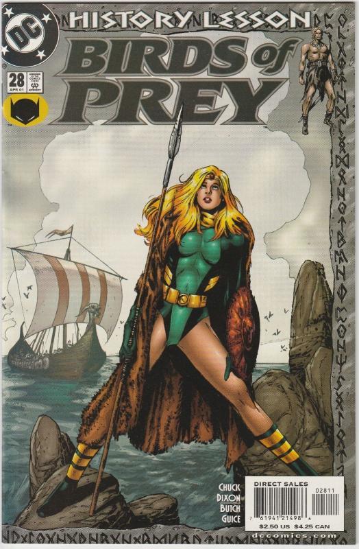 3 Birds Of Prey Dc Comic Books 28 29 30 Black Canary Oracle Batgirl Dc2 Hipcomic