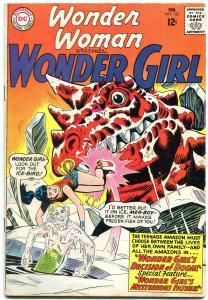 WONDER WOMAN #152 1964-WONDER GIRL-DC SILVER AGE-VG plus VG+