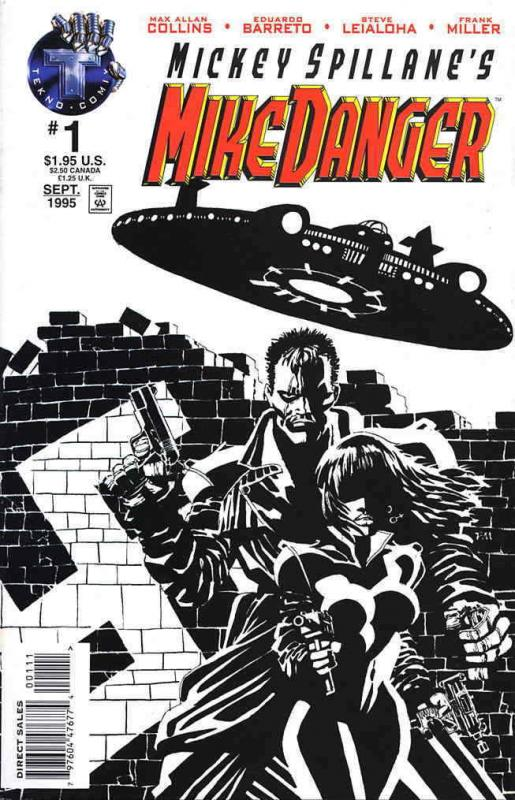 Mike Danger (Mickey Spillane's…, Vol. 1) #1 VF/NM; Tekno | save on shipping - de
