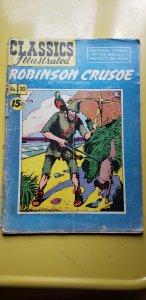 Classic Comics #10 (1943) HRN 114 GD