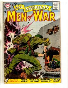 All American Men Of War # 53 VG DC Silver Age Comic Book Marines Navy Army JL9