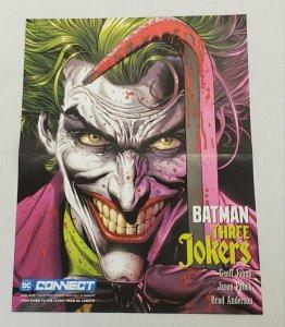 Official 2020 DC Comics Batman Three Jokers 10x13 Promotional Poster