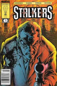Stalkers #4 (Newsstand) FN; Epic | save on shipping - details inside
