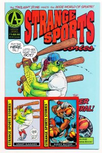 Strange Sports Stories (1992) #1-3 VG-NM Complete series