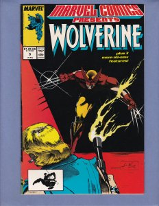 Marvel Comics Presents #9 FN Wolverine Marvel 1988