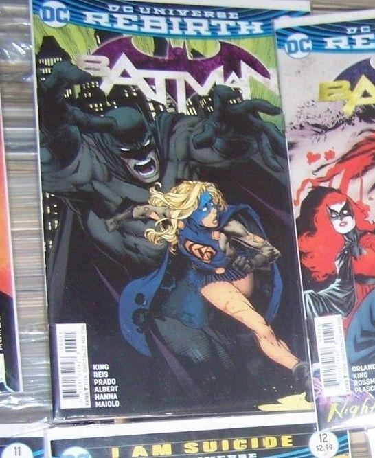 Batman # 6 oct 2016  DC UNIVERSE REBIRTH   gotham girl i am gotham  epilogie