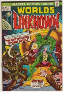 Worlds Unknown #3 (Sep-73) VF+ High-Grade
