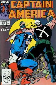Captain America (1st Series) #364 VF; Marvel   save on shipping - details inside