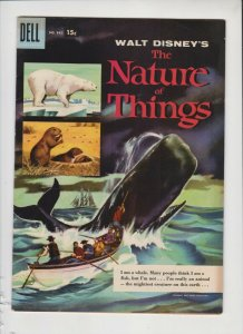 WALT DIISNEY'S THE NATURE OF THINGS #842 1956 DELL / MED QUALITY/+/- /