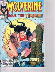 Lot Of 2 Marvel Books Wolverine Save the Tiger #1 and Flashback #1  ON2