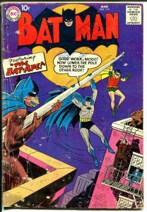 Bat Man #114 1958-DC-Bat-ape-robot splash panel-G+