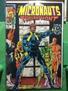 The Micronauts #58