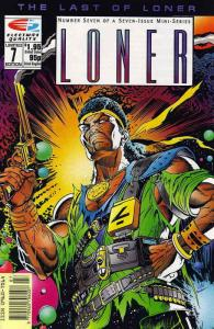 Loner #7 VF/NM; Fleetway Quality   save on shipping - details inside