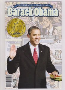BARACK OBAMA PRESIDENTIAL MATERIAL: #1 VF 4TH PRINT 2009 IDW PHOTO COVER