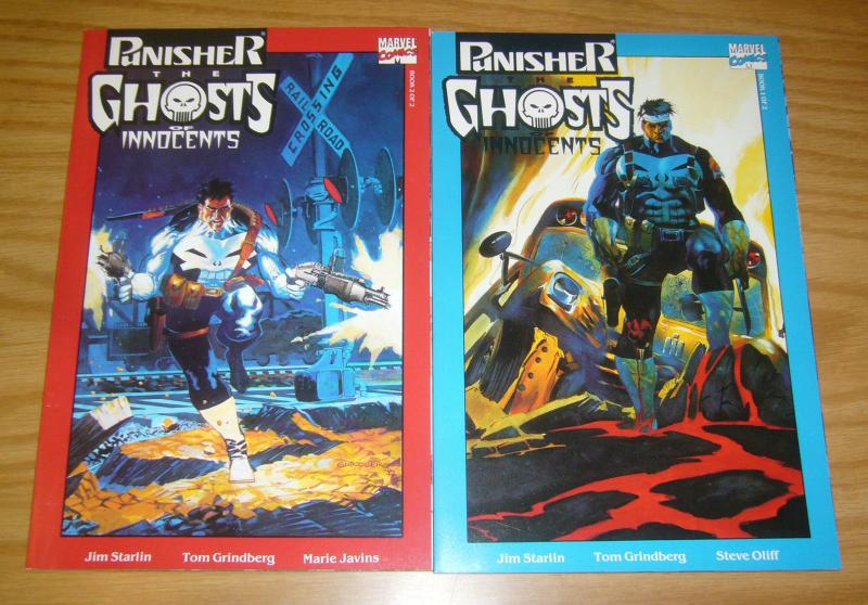 Punisher: the Ghosts of Innocents #1-2 VF/NM complete series - jim starlin set