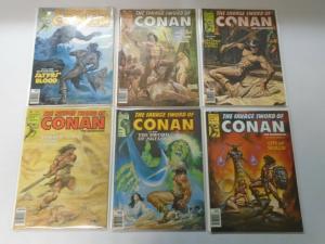Savage Sword of Conan Lot #51-92 26 different (1980-83) 8.0 VF