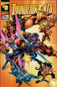 Thunderbolts (1997 series) Wizard #0, Fine+ (Stock photo)