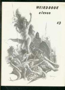 WEIRDBOOK FANZINE #11 1977-ROBERT E HOWARD-ROY KRENKEL  VF