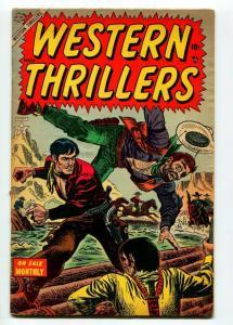WESTERN THRILLERS #1 1954-FR/G