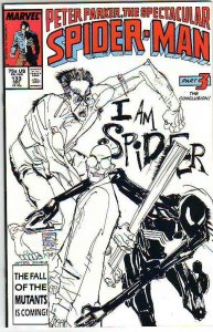 Spider-Man, Peter Parker Spectacular #133 (Dec-87) NM Super-High-Grade Spider...