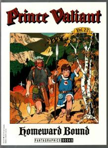 Prince Valiant #22 1990-Fantagraphics-color reprint-Hal Foster-Homeward Bound-VF