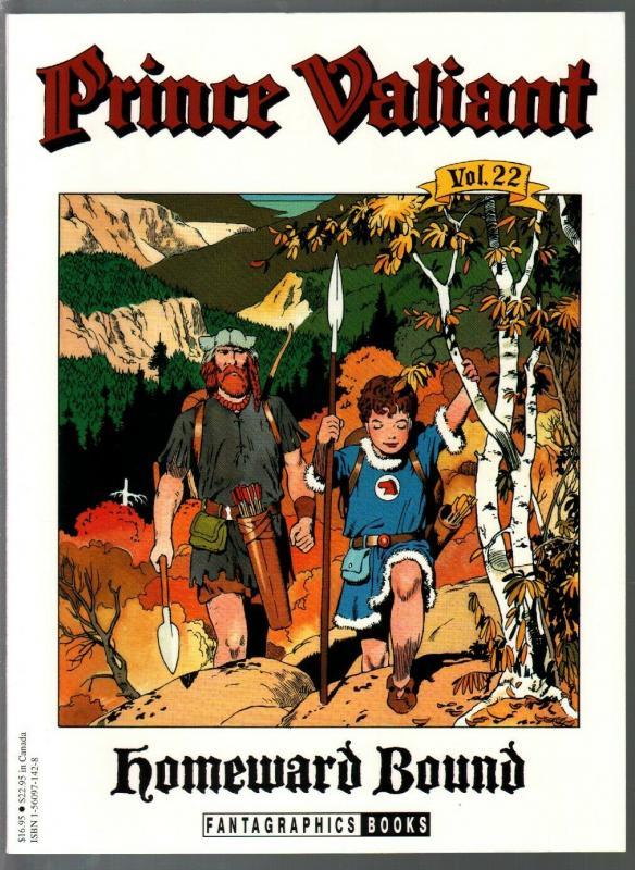 Prince Valiant #22 1990-Fantagraphics-color reprint-Hal Foster-Homeward Bound-VF
