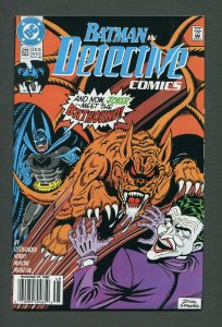 Detective Comics #623 / 8.0 VFN  Newsstand  November 1990