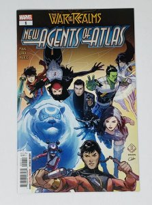 WAR OF THE REALMS NEW AGENTS OF ATLAS #1 (OF 4)
