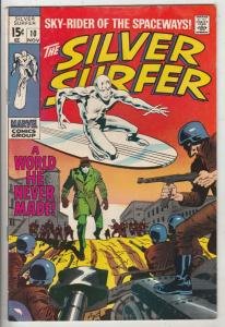 Silver Surfer #18 (Sep-70) FN+ Mid-High-Grade Silver Surfer