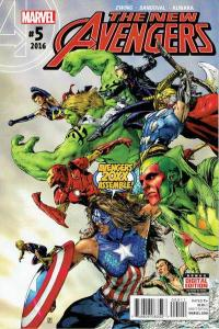 New Avengers (2015 series) #5, NM (Stock photo)