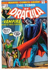 Tomb of Dracula(vol. 1) # 17    BLADE THE VAMPIRE HUNTER