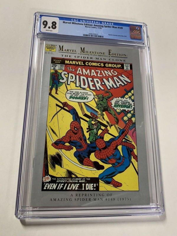 Amazing Spider-man 149 Cgc 9.8 WP Marvel Milestone Edition 1st Ben Reilly Clone