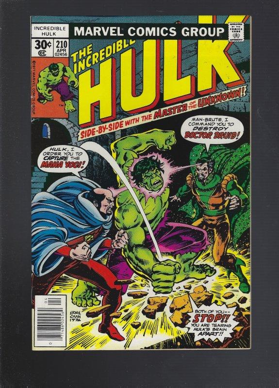 The Incredible Hulk #210 (1977)