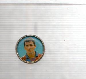 Pins: Xiqui Beguiristain ,jugador del Barça