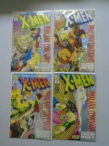 X-Men 4 different Phalanx Covenant issues (1994)