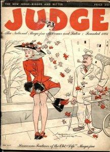 Judge Magazine October 1947- Wenzel & Keller art