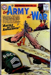 Our Army at War #128 (1963) origin of Sgt. Rock, intro of Sgt. Krupp