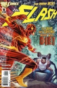 Flash, The (4th Series) #5 VF; DC | save on shipping - details inside
