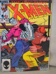 The Uncanny X-Men 183  VF/NM  condition.  Unread. 1984 .
