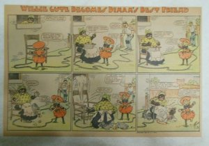 Willie Cute Becomes Dinah's Best Friend Sunday from 1905 Half Full Page Size!