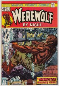 Werewolf by Night #20 (Aug-74) VF/NM High-Grade Werewolf