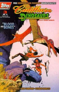 Cadillacs & Dinosaurs (Vol. 2) #3 Deluxe VF/NM; Topps | save on shipping - detai