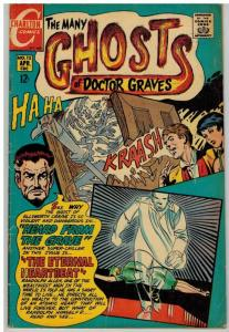 MANY GHOSTS OF DOCTOR GRAVES (1967-1982 CH) 13 G-VG