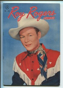 ROY ROGERS FOUR COLOR #166 1947-DELL-EARLY ROY ROGERS ISSUE-PHOTO COVERS-vf+