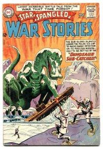 Star Spangled War Stories #112 1964- Dinosaur issue VG