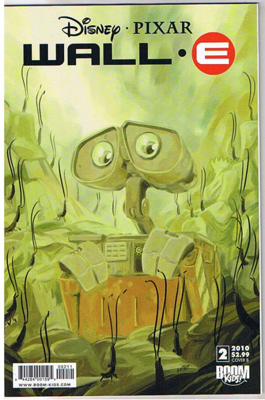 WALL-E #2 B, NM, Pixar, Disney, Boom Comics, 2009, more Disney in store