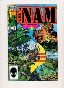 Marvel Comics THE 'NAM  #1 ~ VF/NM 1986 (HX734)