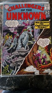 CHALLENGERS OF THE UNKNOWN #29(DC,1963) Condition GD